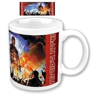 cup Iron Maiden - Wicker Man Boxed Mug - ROCK OFF - IMMUG03