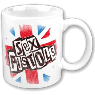 cup Sex Pistols - Logo Flag Fridge Boxed Mug - ROCK OFF - SPMUG02