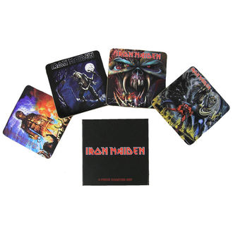 beer coasters Iron Maiden - Iron Maiden coaster set - ROCK OFF - IMCOAST01