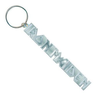 key ring (pendant) Iron Maiden - Logo with No Tails Key Chain - ROCK OFF - IMKEY02