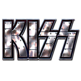 pin badge Kiss - Stud Logo pin badge - ROCK OFF - KISSPIN01