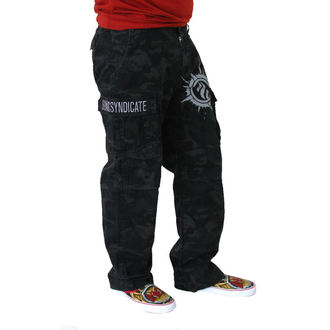pants men Sonic Syndicate - Black Camouflage - NUCLEAR BLAST - 175908