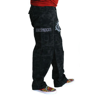 pants men Sonic Syndicate - Black Camouflage - NUCLEAR BLAST