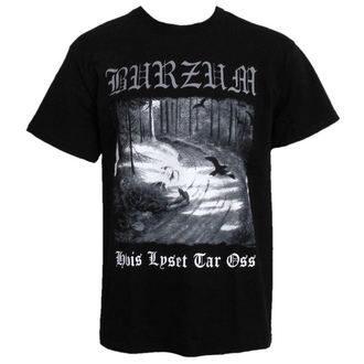 t-shirt men Burzum - Hvis Lyset Tak Oss - PLASTIC HEAD - PH5604