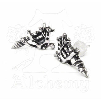 earrings Tattoo Gun Earrings (pair) - ALCHEMY GOTHIC - ULFE3