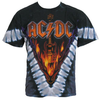 t-shirt metal men's AC-DC - Hells Bells - LIQUID BLUE - 11864