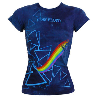 t-shirt metal Pink Floyd - Prism Longer Length - LIQUID BLUE - 13974