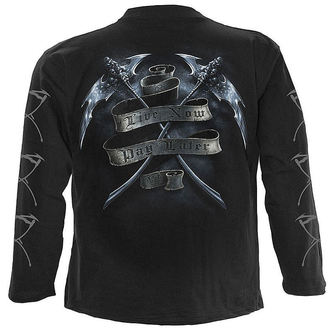 t-shirt men with long sleeve SPIRAL - Live Now Pay Later - TR 289700