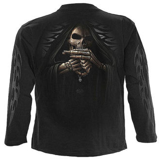 t-shirt men with long sleeve SPIRAL - Bone Finger