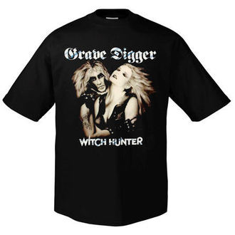 t-shirt metal men's Grave Digger - Witchhunter Retro - ART WORX, ART WORX, Grave Digger