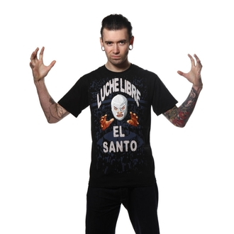 t-shirt men TOXICO - El Santo black