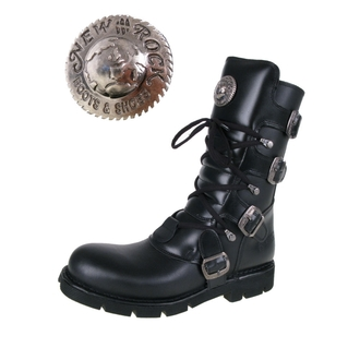 leather boots women's - NEW ROCK - M.1473-S1