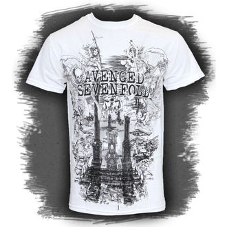 t-shirt mens Avenged Sevenfold - Land Of Cain