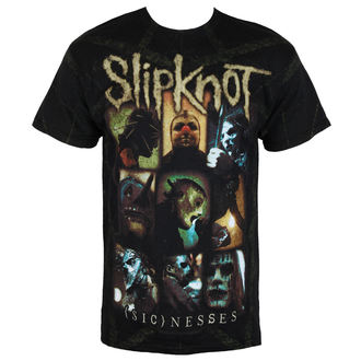 t-shirt metal men's Slipknot - Nesses Jumbo Print - BRAVADO