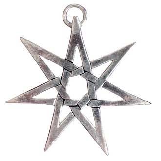 pendant Heptagram - EASTGATE RESOURCE, EASTGATE RESOURCE