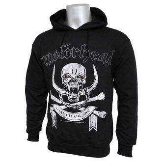 hoodie men's Motörhead - March Or Die - ROCK OFF - MHEADHOOD02MB