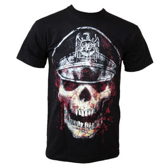 t-shirt metal men's Slayer - Skull Hat - ROCK OFF - SLAYTEE01MB