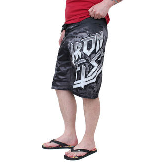 swimsuits men -shorts- IRON FIST - Overkill - SUBLIMATED BLACK