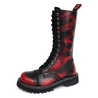 boots KMM 14Eyelet - Red/Black - 140/Z