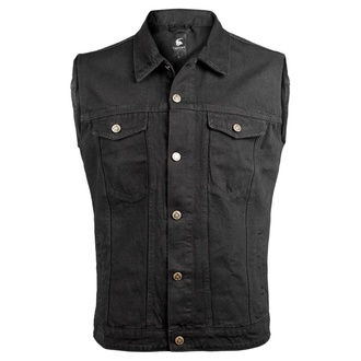 Men's vest CAPRICORN ROCKWEAR - black without frays, CAPRICORN ROCKWEAR