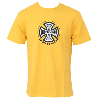 t-shirt men INDEPENDENT - Truck Co - Gold