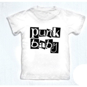 t-shirt metal children's - Punk Baby - ROCK DADDY - 16007-006 - MBM