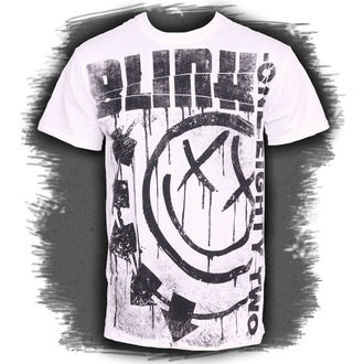 t-shirt men Blink 182 - Spelled Out - ATMOSPHERE