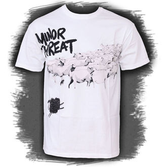 t-shirt metal men's Minor Threat - Out Of Step White - LIVE NATION - PE12180