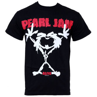 t-shirt metal men's Pearl Jam - Stickman - LIVE NATION - PE12043TSBP