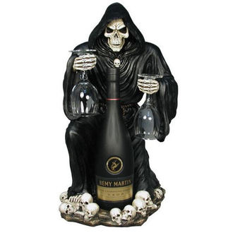 decoration Grim Reaper Bottle and Glass Holder - NEM6307