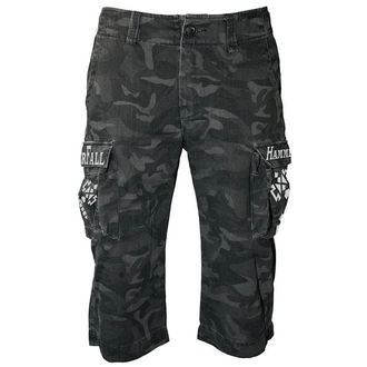shorts men Hammerfall - Black Camouflage - NUCLEAR BLAST