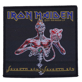 patch Iron Maiden - Seventh Son, RAZAMATAZ, Iron Maiden