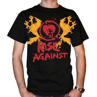 t-shirt metal men's Rise Against - Fist Crest - KINGS ROAD - 00121