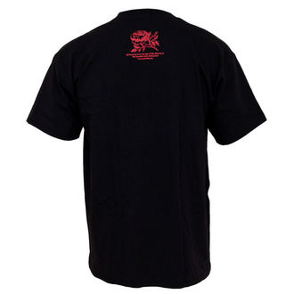 t-shirt metal men's Rise Against - Fist Crest - KINGS ROAD