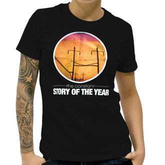 t-shirt women Story Of The Year - The Constant - Black - KINGS ROADS