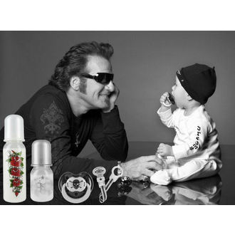 baby bottle (250 ml) ROCK STAR BABY - Tatoo Pirate - 127457