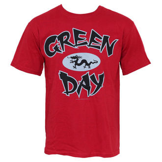 t-shirt metal men's Green Day - Ghina Dragon - BRAVADO - GDY1303