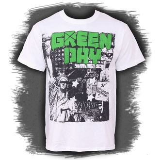t-shirt men Green Day - State of Liberty - Bravado USA