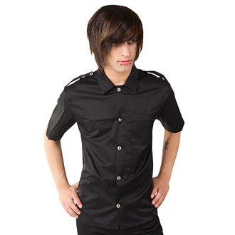Men's shirts Aderlass - Army Shirt Denim Black - A-3-46-001-00
