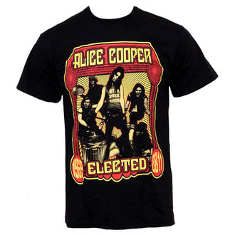 t-shirt metal men's Alice Cooper - Elected Band - EMI - TSB 7581
