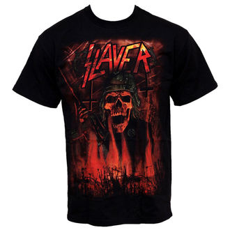 t-shirt metal men's Slayer - Wehrmacht - ROCK OFF - SLAYTEE08MB
