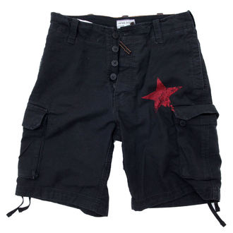 shorts men Rage Against The Machine - Black Red Star - ATMOSPHERE