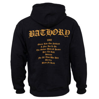 hoodie men Bathory - Blood Fire Death, PLASTIC HEAD, Bathory