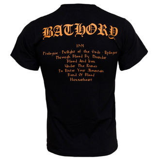 t-shirt metal men's Bathory - Twilight Of The Gods - PLASTIC HEAD