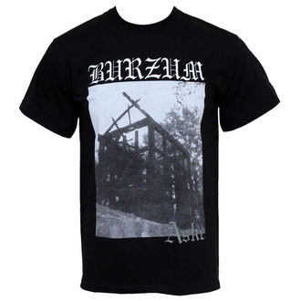 t-shirt metal men's Burzum - Aske - PLASTIC HEAD - PH2848