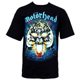 t-shirt metal Motörhead - Overkill - PLASTIC HEAD - PH10387