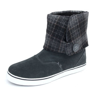 fug boots women's - Lounge ws - ETNIES - CHARCOAL