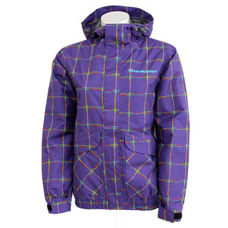 winter jacket - Taygeta - HORSEFEATHERS - Taygeta - VIOLET CHECK