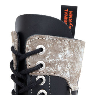 boots KMM 14Eyelet - Black/Grey - 145