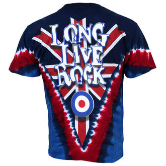 t-shirt metal men's Who - Long Live - LIQUID BLUE
